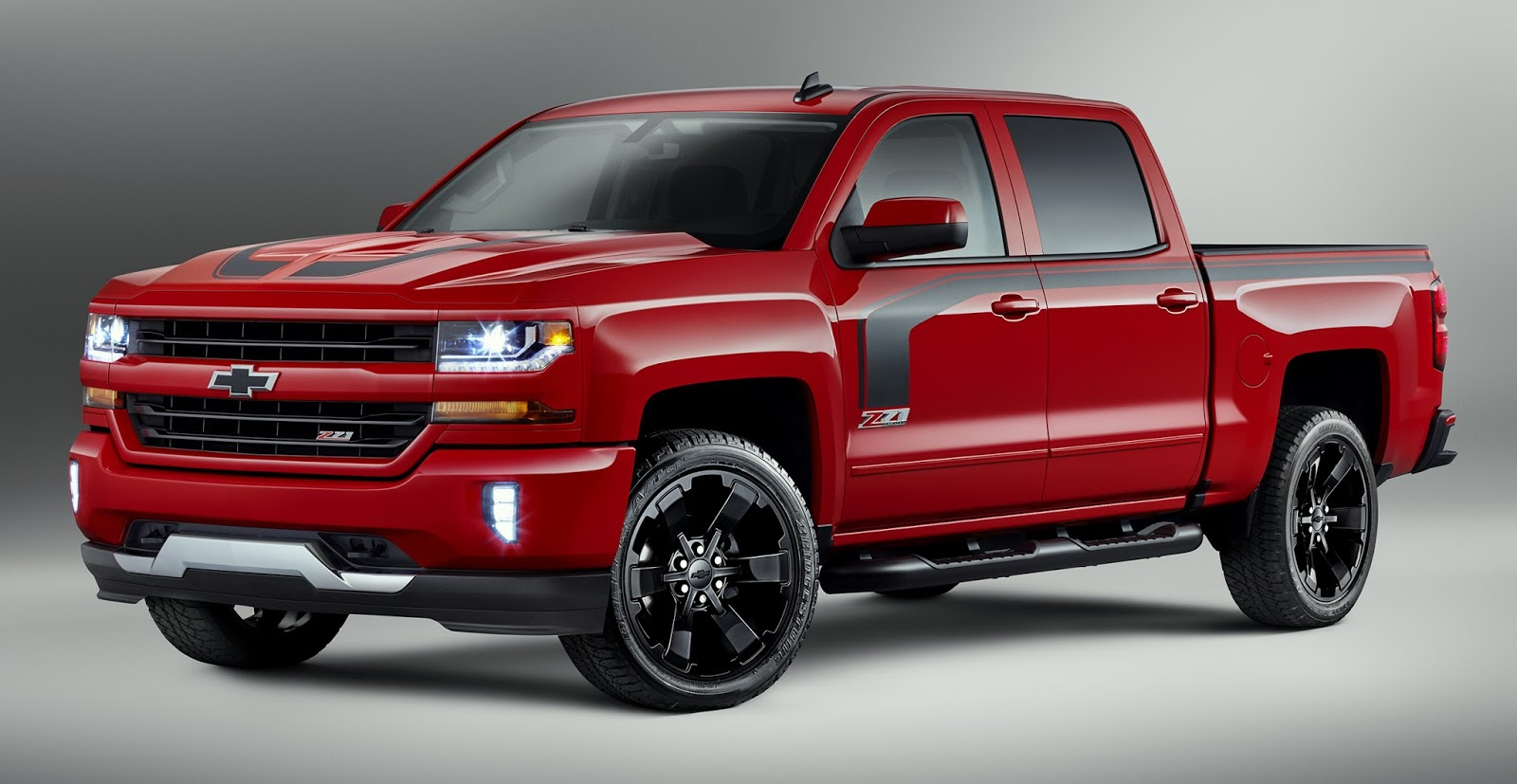 chevrolet highlights 2016 silverado special editions including new rally edition. Black Bedroom Furniture Sets. Home Design Ideas