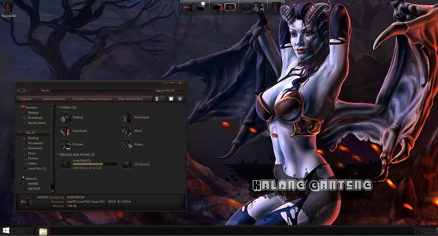 DOTA2 SkinPack Screenshot windows 8/8.1
