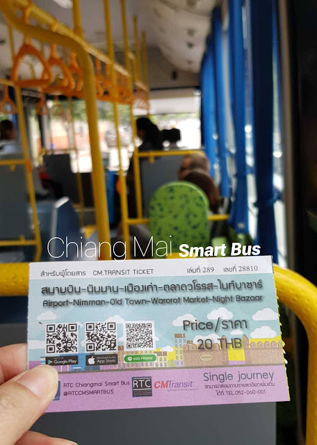 RTC Chiang Mai Smart Bus