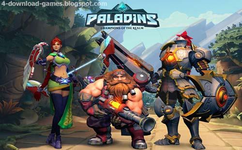 لعبة الاكشن واطلاق النار بلادنز Paladins