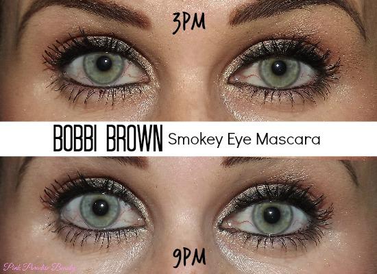 bobbi brown smokey eye mascara review photos pink paradise beauty