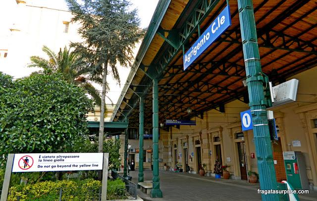 Estação de trens de Agrigento, Sicília