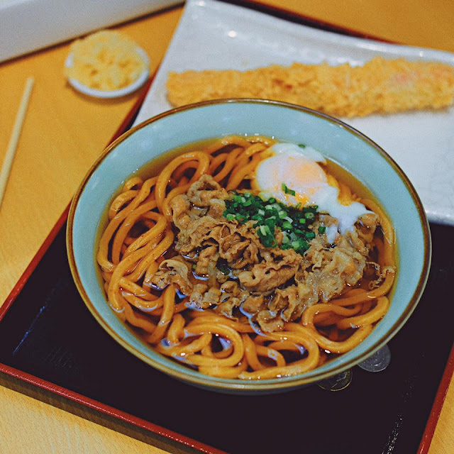 Beef Togarashi Udon