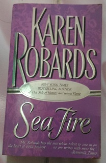 Novel Sea Fire by Karen Robards Bekas