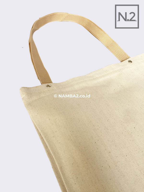 TAS TOTEBAG SEMINAR KIT KANVAS NATURAL