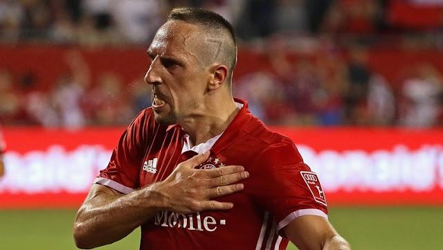 Semangat Ribery Usai Fit Lagi dan Teken Kontrak Baru