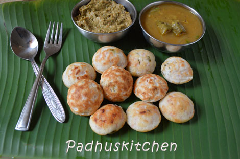 Khara Paniyaram recipe