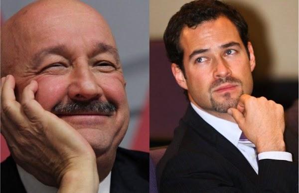 Emiliano Salinas asegura que los ataques a su persona son porque es hijo del mejor ex presidente de México, Carlos Salinas.