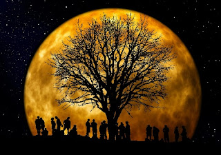 How the Moon Came to Be African Folklore Story