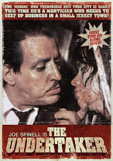 THE UNDERTAKER, film d'horreur avec Joe Spinell (1988), nécrophilie, affiche, poster