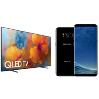 Samsung QLED TV Alana Galaxy S8 Hediye
