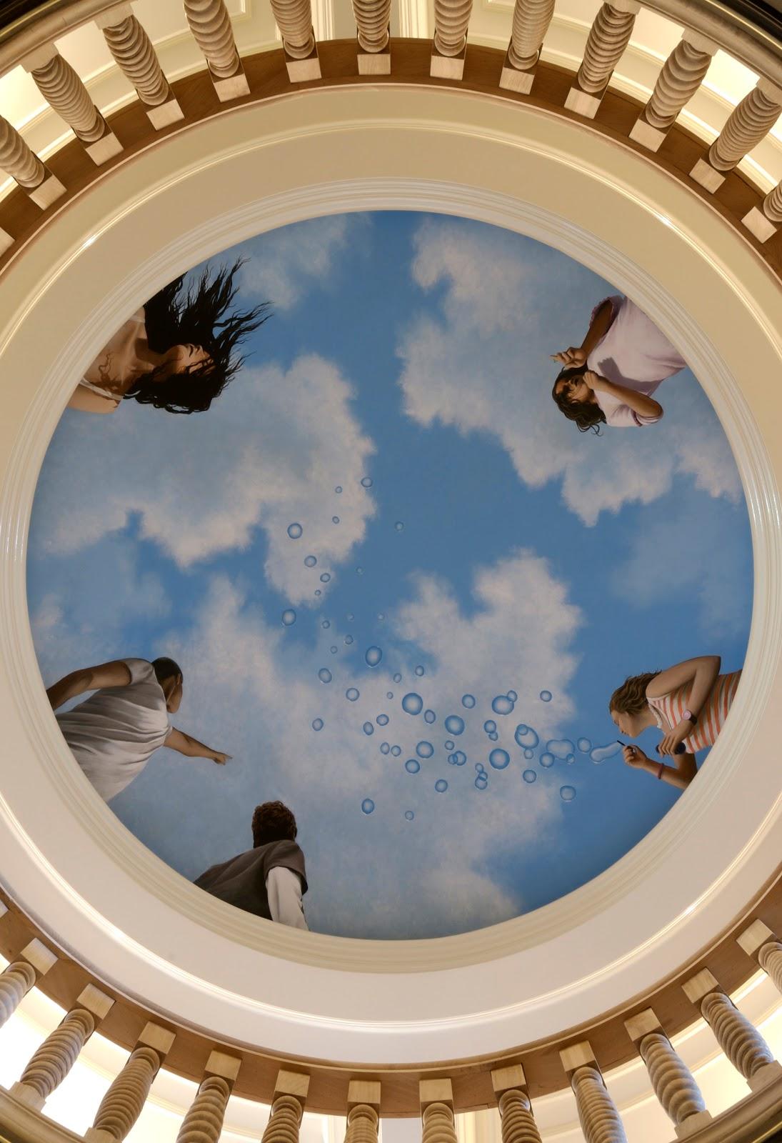 david faust: Ceiling mural