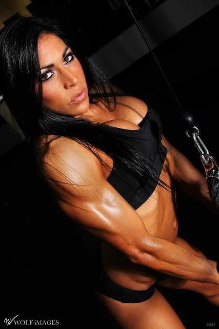 Kristina Rojas - IFBB Fitness