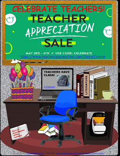 May Teacher Appreciation Sale