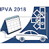 Valor do IPVA 2018 está disponível para consulta desde a última quinta-feira, 21/12