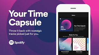 Source: Spotify. Spotify launches Your Time Capsule playlist.