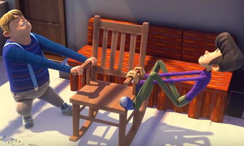 Rafadan Tayfa Kırık Sandalye