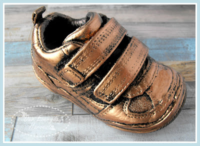Porcelain Baby Shoes Preserve