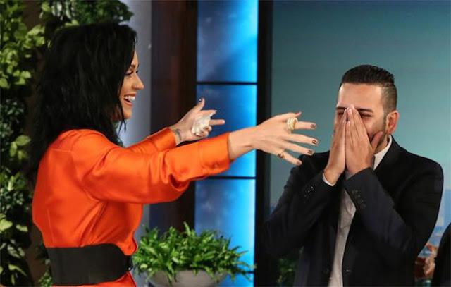 Katy Perry sorprende a sobreviviente de la masacre de Orlando (VIDEO)