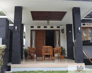 contoh teras rumah minimalis terbaru
