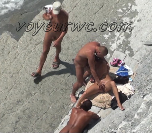 BeachHunters Sex 21455-21491 (Nude beach sex with nudist couples filmed on voyeur cam)