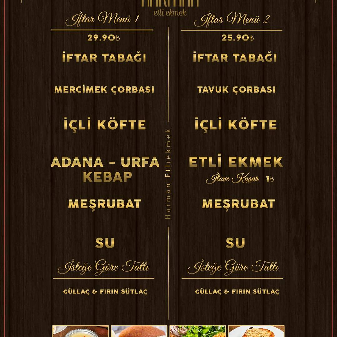 harman etli ekmek ısparta iftar menü