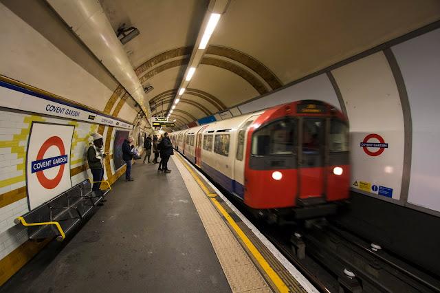Covent garden underground-Londra