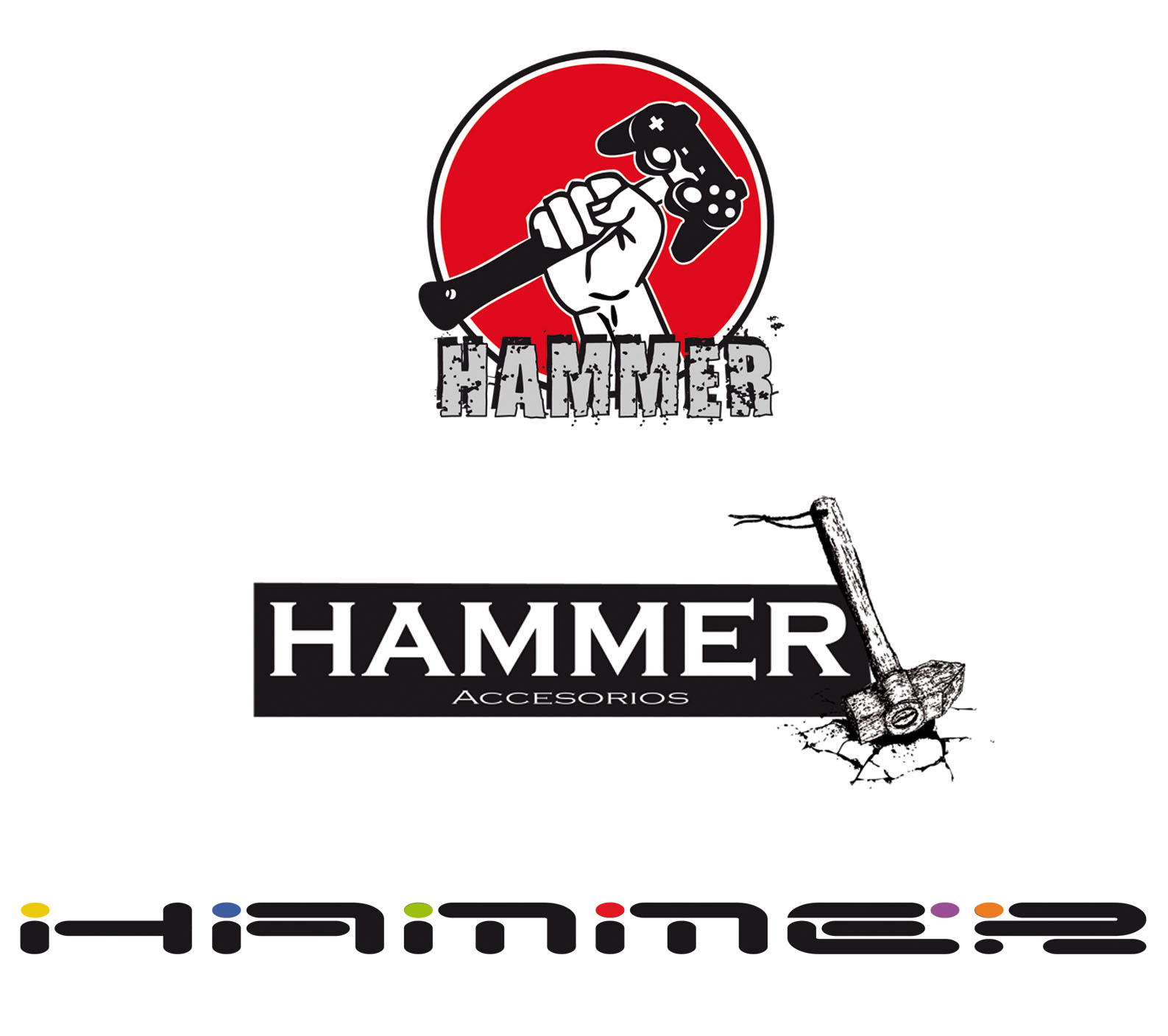 Propuesta De Logo Para Hammer Accesorios Para Videojuegos Bng