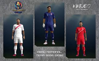 Kits PERU Copa America Centenario 2016 Pes 2013 By kikejg16