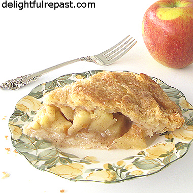Apple Pie - Autumn Classic - with All-Butter Pastry - and lots of tips / www.delightfulrepast.com