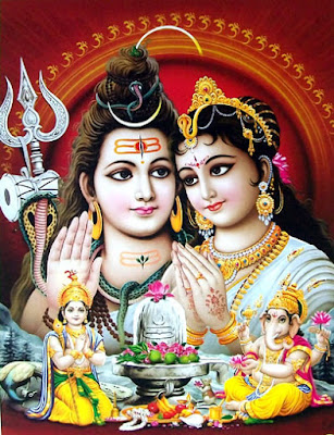 Lord Shiva Family Pictures