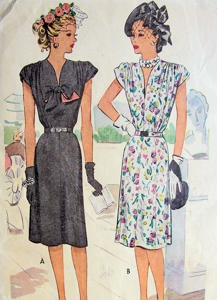 Fashion Dresses Accessories: Vintage Clothing Love: 1940's Dresses And Accessories