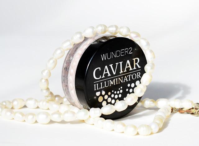Wunder2 Caviar Illuminator Highlighter. естественный стойкий хайлайтер с влажным блеском