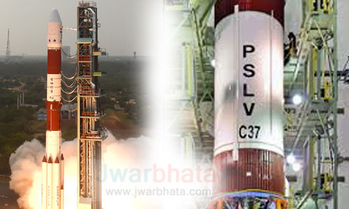world record of isro with a memorable success