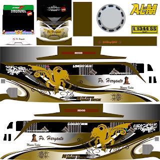 Kumpulan Livery Bus Simulator Indonesia V4