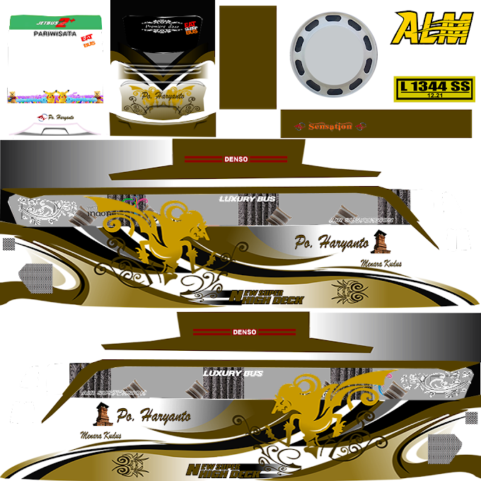 Kumpulan Livery Bus Simulator Indonesia V4