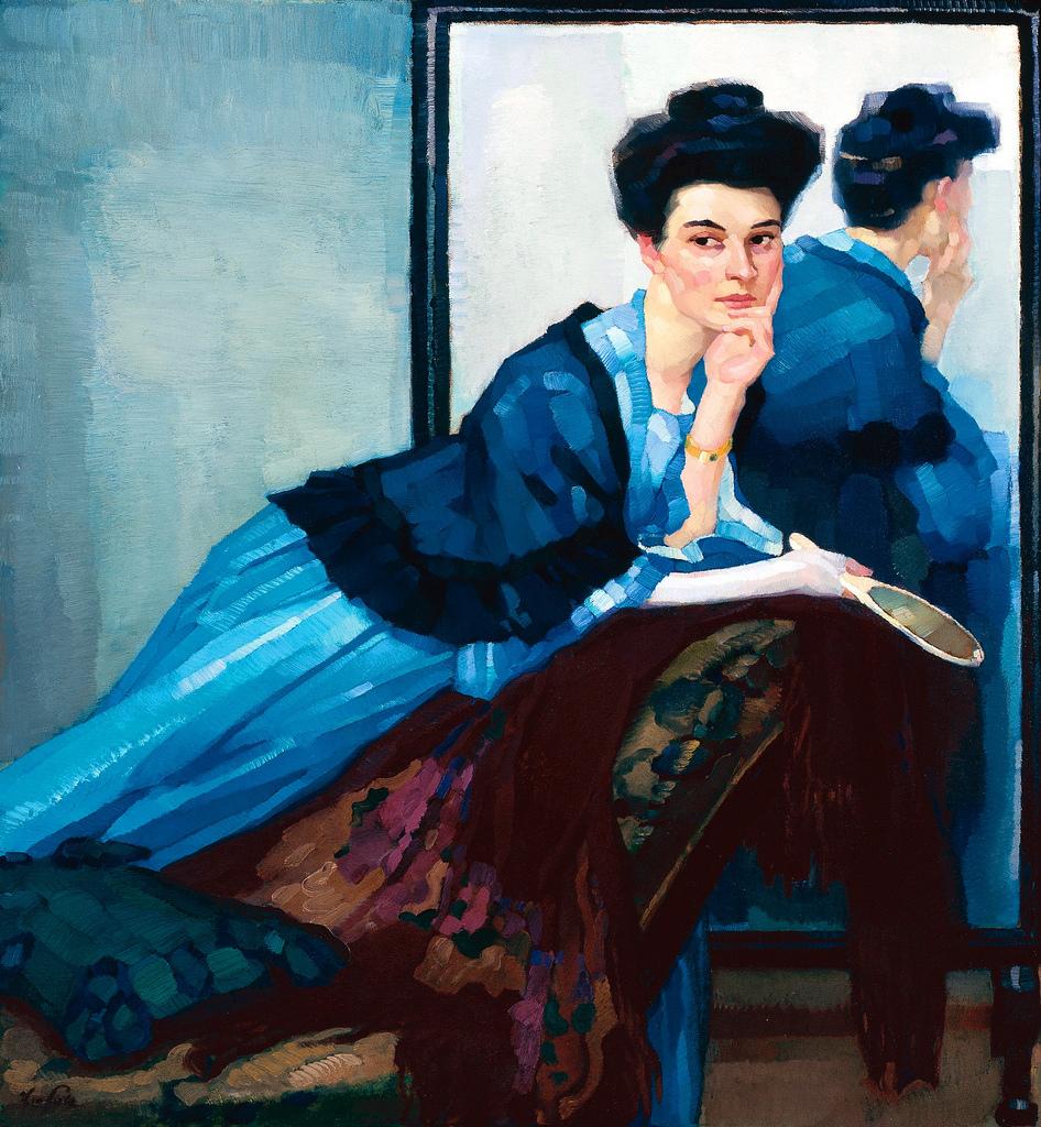 Leo Putz - A Tyrolean Painter (1869 - 1940)