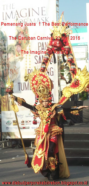 Foto Peserta Pemenang Juara 1 The Best Performance The Caruban Carnival 2016