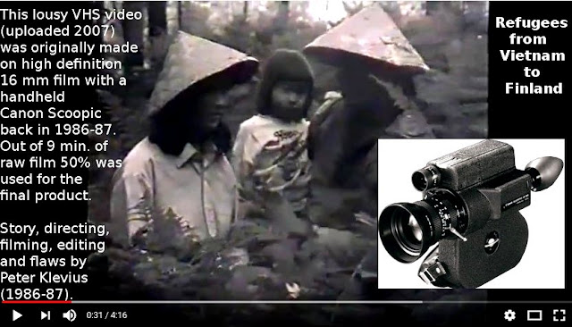 Peter Klevius 1986 experimental zero budget refugee video