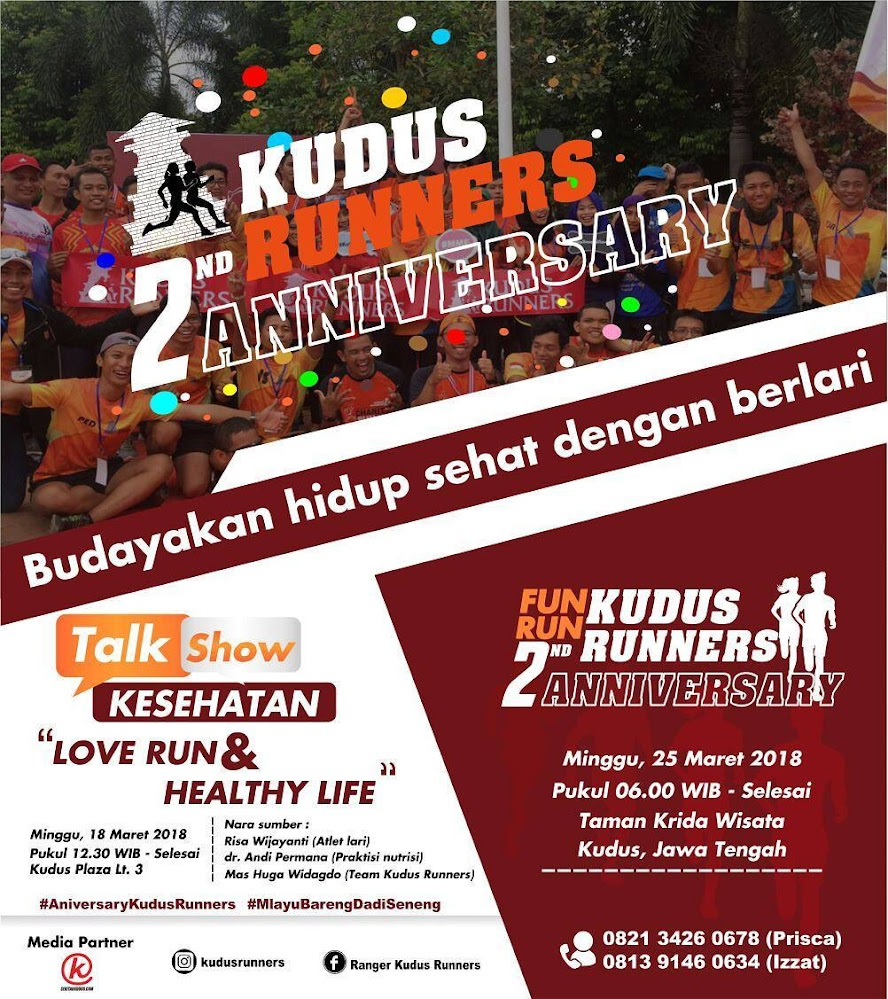 Kudus Runners 2nd Anniversary Run • 2018