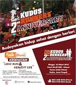 Kudus Runners 2nd Anniversary Run • 2018