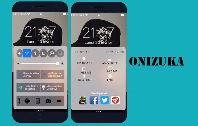 Onizuka, a tweak which will customize your iOS devices control center as well as add other features to it.After installing Onizuka, you can have an option to configure from the tweak preferences in the settings app