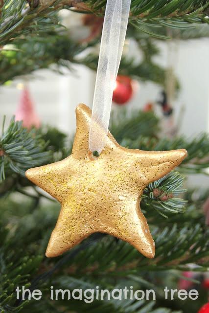 Easy Salt Dough Ornaments Tutorial The Imagination Tree