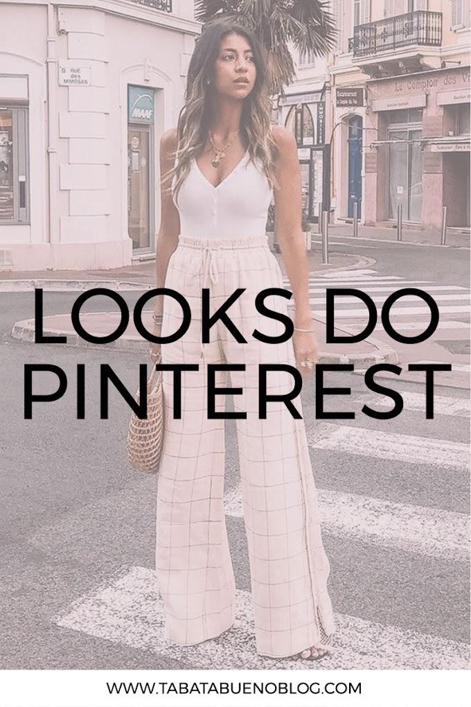 Meus looks favoritos do Pinterest