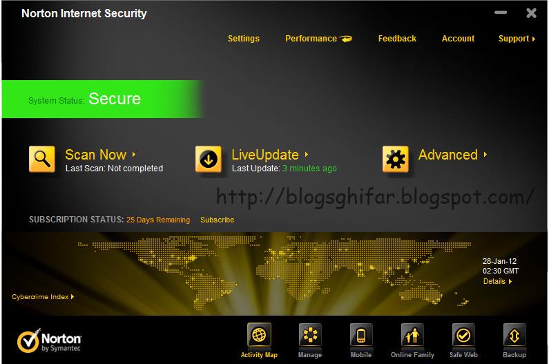 Norton internet security trial reset