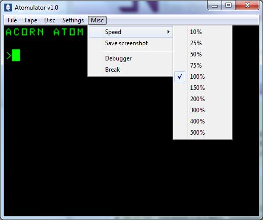 EmuCR: Atomulator
