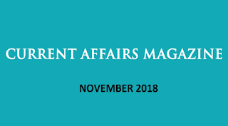 Current Affairs November 2018 by iasparliament - Download PDF