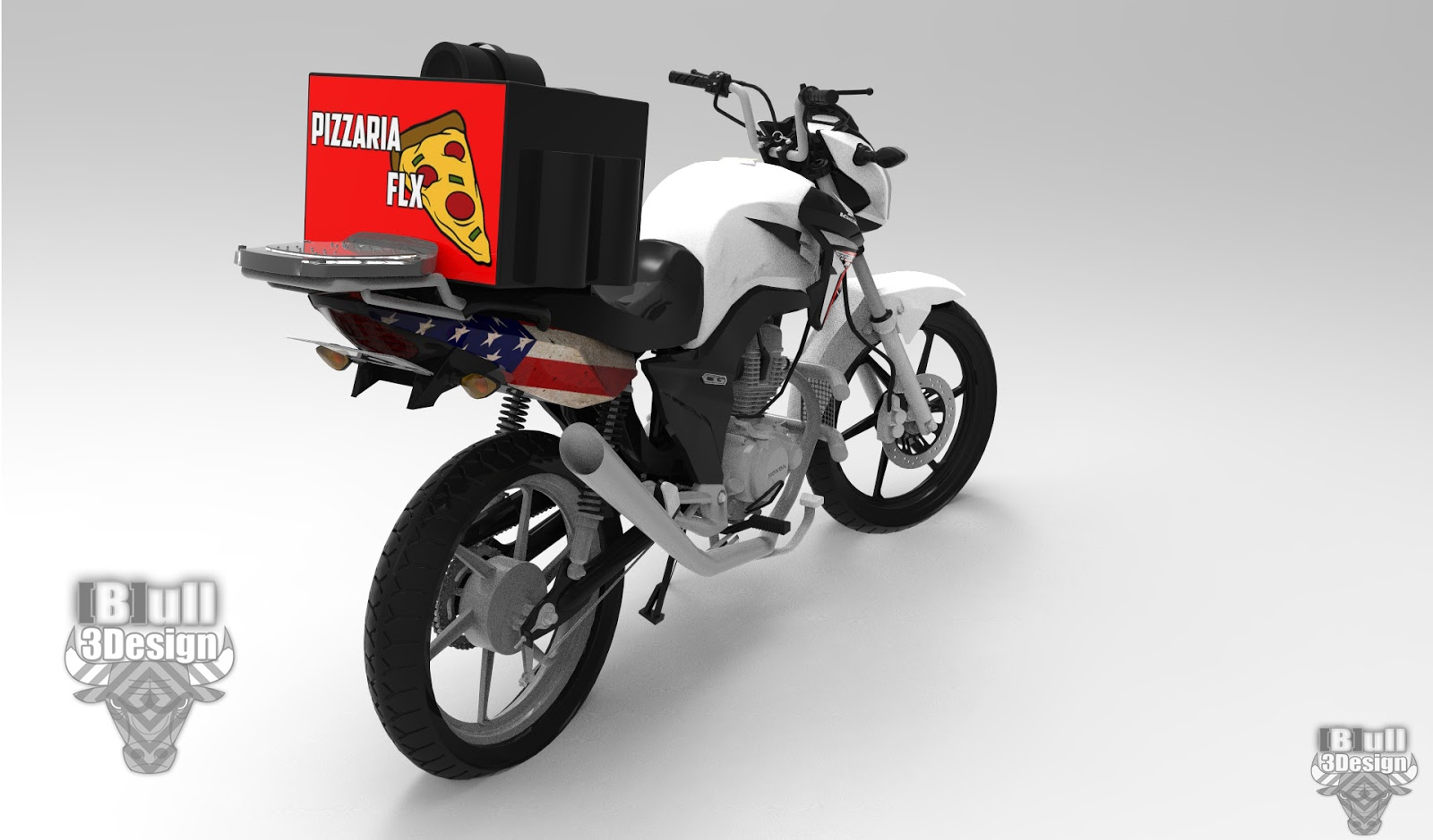 Resultado de imagem para moto de entregador de pizza para mta