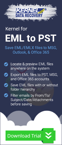 EML to Outlook PST