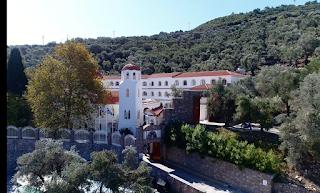 Μυτιλήνη: Το λαμπρό μοναστήρι των Αγίων Ραφαήλ, Νικόλαο και Ειρήνη - ΦΩΤΟ